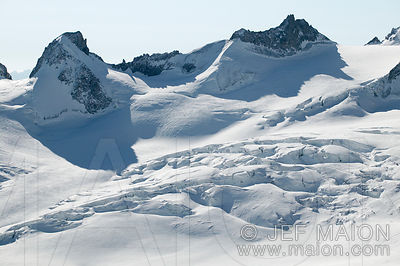Winter glacier