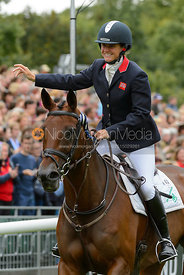 , prize giving, Land Rover Burghley Horse Trials 2017