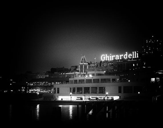 Ghirardelli Square - Night