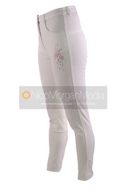 Stock image - Light equestrian breeches and jodhpurs