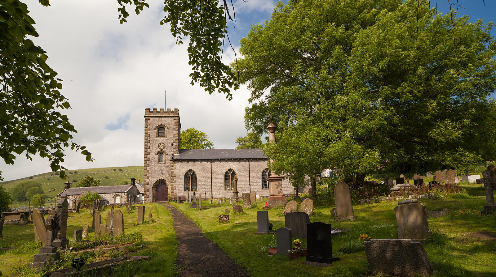 St Michael and All Angels church at Earl Sterndale