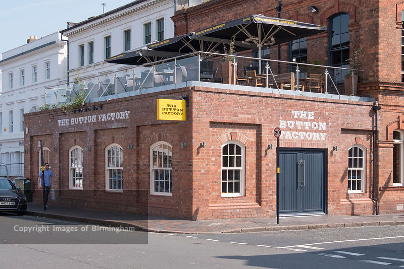 The Button Factory pub, The Jewellery Quarter of Birmingham, England