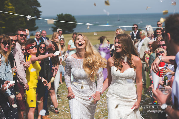 Rebecca & Lauren - Studland Bay House Wedding