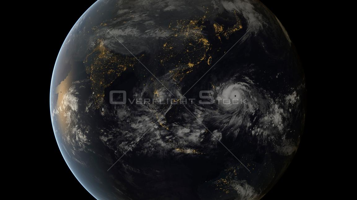 Super Typhoon Haiyan hit The Philippines with 50ft waves and 200mph winds