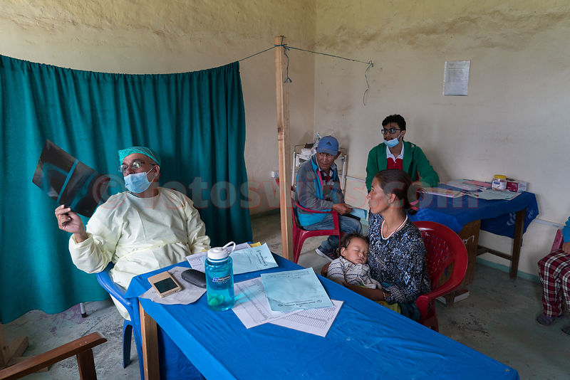 Medical Camp by med-solutions foundation St.Moritz in Simikot 2017