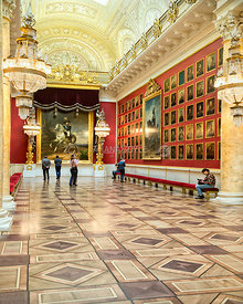 Millitary Gallery of the Winter Palace; Saint Petersburg, Russian Federation