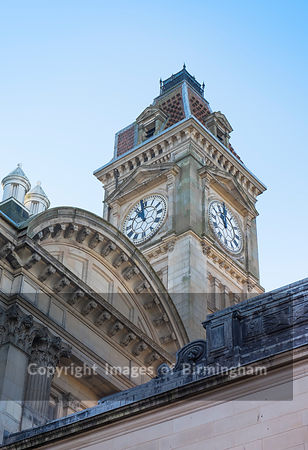 The Clock Tower on the Council House, Birmingham.