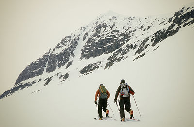 "Dylan Freed and Andrew McLean, during production of ""Steep"", Olafsfjordur, Iceland"