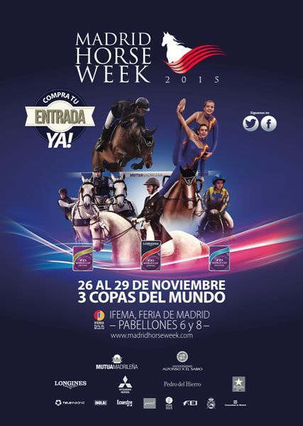 2015_Madrid Horse Week FEI Longines World Cup