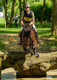 Giovanni Ugolotti and DUKES SUNNY BOY, Fairfax & Favor Rockingham Horse Trials 2018