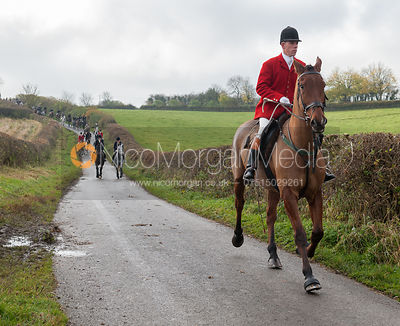 Robert Medcalf - The Cottesmore Hunt at Tilton on the Hill 10/11/12
