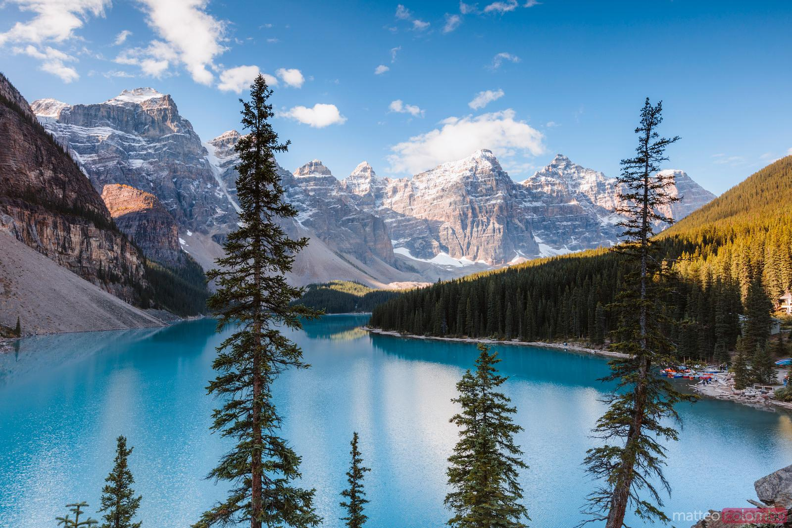 Matteo Colombo Travel Photography Moraine Lake Banff