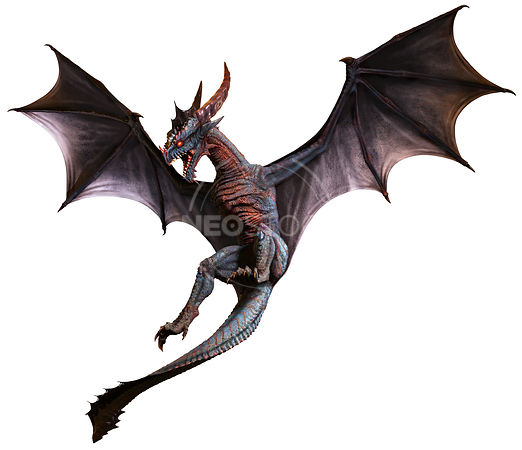 Wyvern Dragon: Cinematic Stock Photography™ For Book Cover