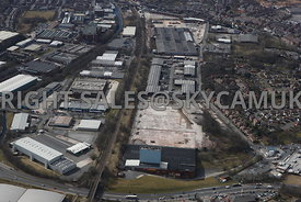 Rochdale aerial photograph of the Royal Pennine Industrial Estates