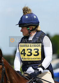 Kathryn Woolley and NEWPORT ARCH, Fairfax & Favor Rockingham Horse Trials 2018