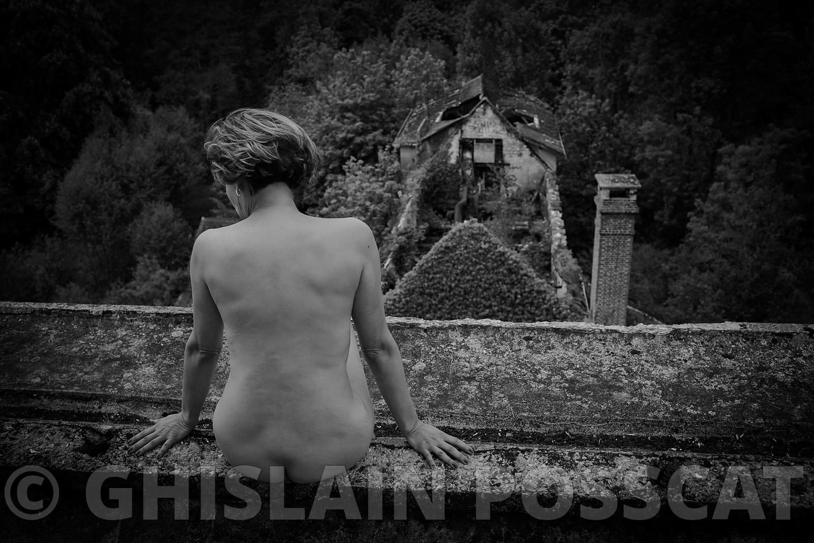 Nature takes her rights back- Ghislain posscat, erotic pictures, nude fine art, erotic photographer 2