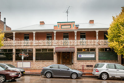 Restaurant Exterior in Lithgow, New South Wales