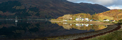 Loch Duich reflections