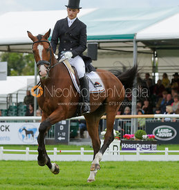 Niklas Bschorer and TOM TOM GO 3 - Burghley 2015
