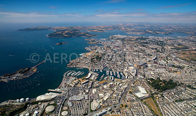 Plymouth is an important port city, the Plymouth Sound is one of largest natural harbours in the world.