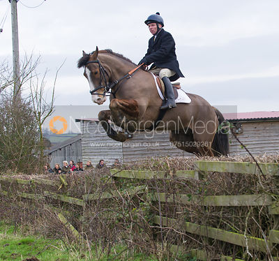 The Cottesmore Hunt at Town Park Farm, Brooke 8/1