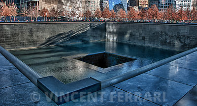 North Tower Memorial Fountain