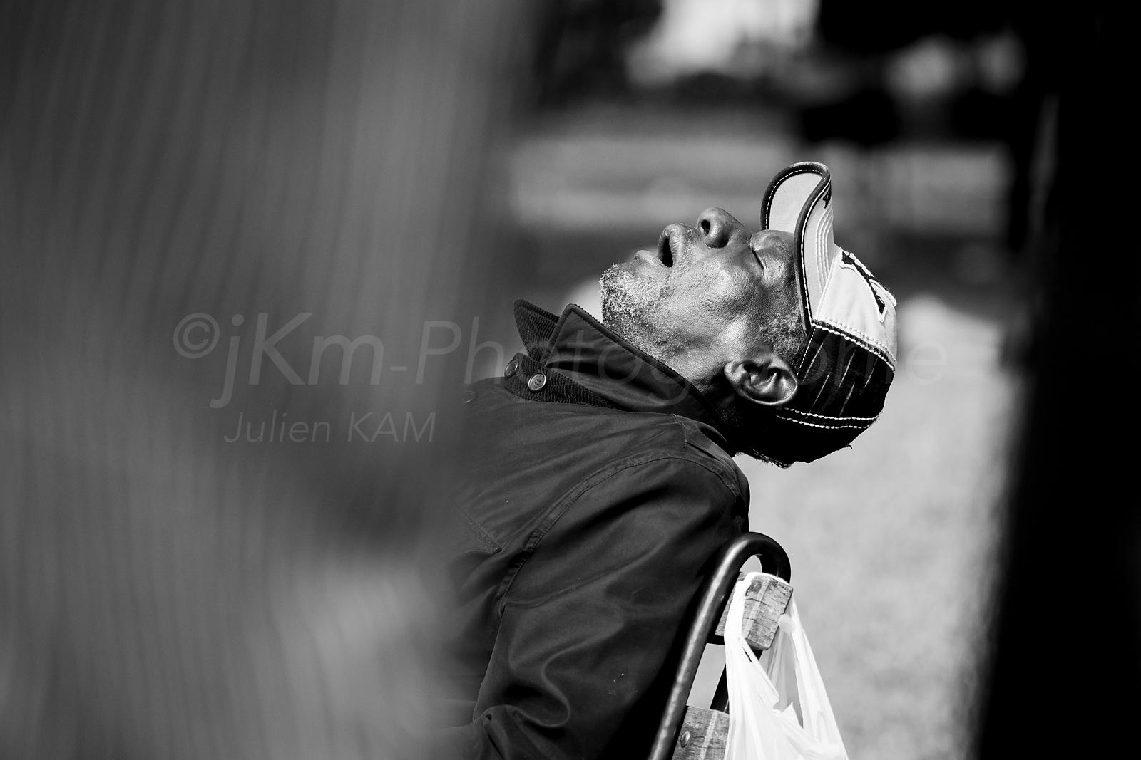 Street Photo - Tiredness
