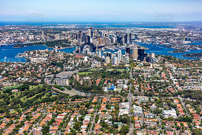 Cammeray to Sydney CBD