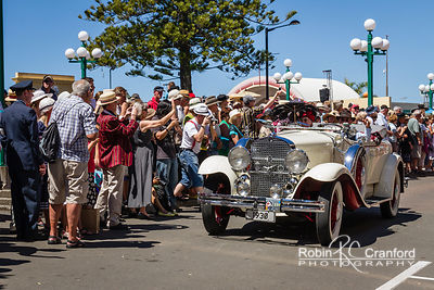 Art Deco Saturday 2012 - Vintage Car Parade.  License Plate = 1930