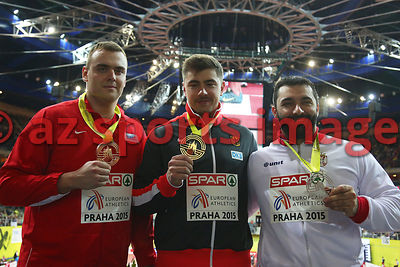Prague 2015 European Indoor Championships