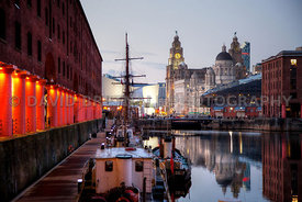Night View From The Albert Dock