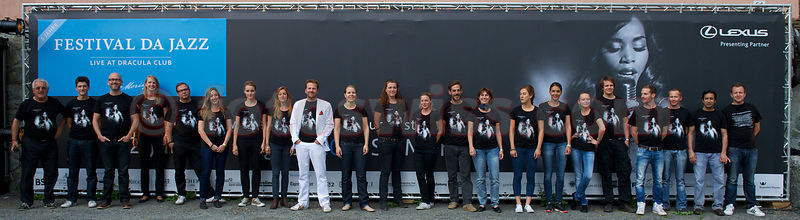 Staff of Festival da Jazz 2012 Live at Dracula Club St.Moritz