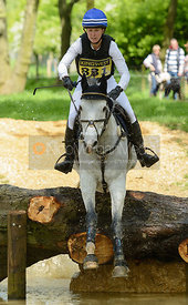 Tiana Coudray and ALOHA - Rockingham Castle International Horse Trials 2016