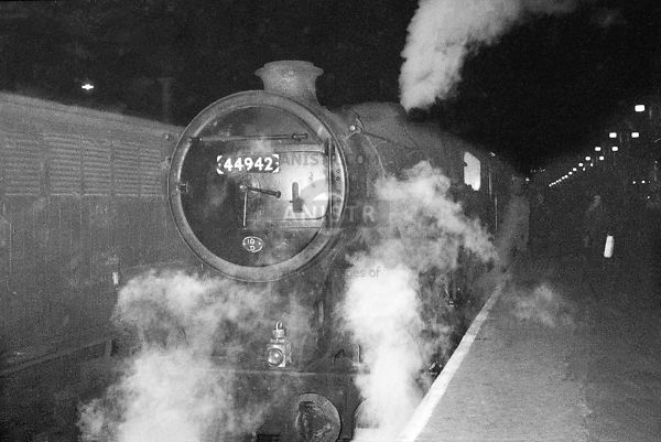 Steam loco Black 5 44942 Liverpool