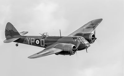 Blenheim Mk I black and white version