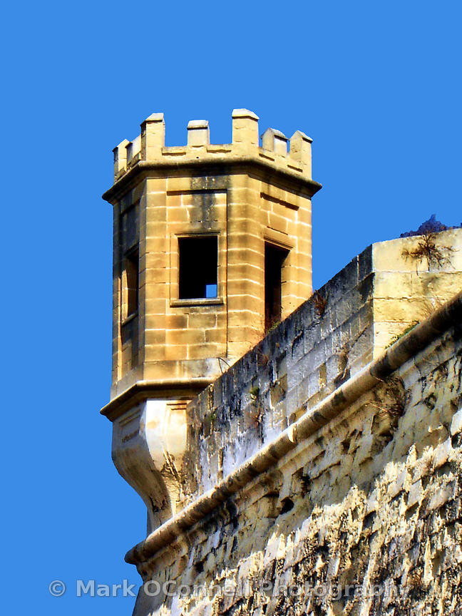 Tower in Malta