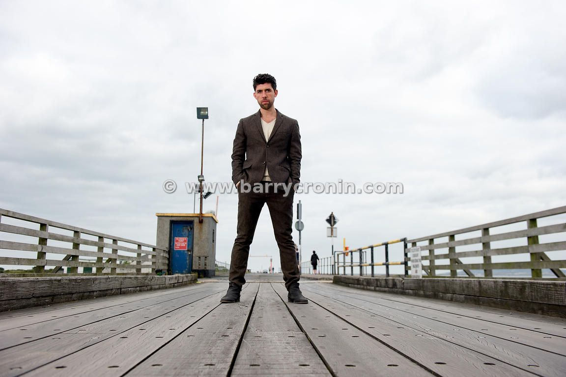1st September, 2014. Actor, Director, Dancer and son of the late Gerry Ryan, Rex Ryan photographed in his hometown of Clontar...