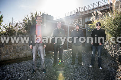 10th February, 2019.The band Yelling Bones are from left: Gerry McGovern, Brian Malone, Myles and Fionn McDonnell.. Photo:Bar...