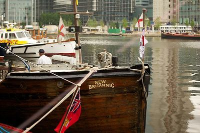 The New Britannic, Dunkirk Little Ships Gather for the River Pageant