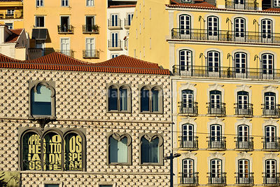 Casa dos Bicos, a 16th century house, now home to the José Saramago Foundation, the 1998 Literature Nobel Prize. Lisbon, Portugal