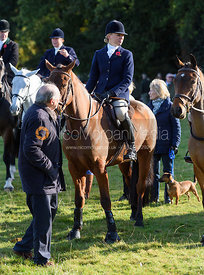Gemma Redrup at the meet - Fitzwilliam Hunt Opening Meet 2016