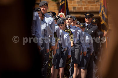 Air Training Corps Cadets Marching