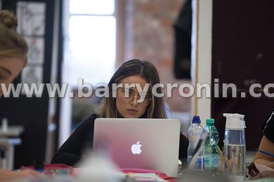 19th October, 2018.General views of the Dublin Institute of Technology, Grangegorman, Dublin Pictured are students and lectur...