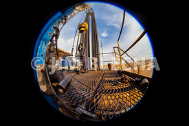 Fisheye Rig Floor Stock Photos
