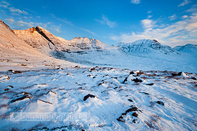 BP3526 - Beinn Alligin at sunrise