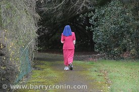 18th January, 2012. Charity worker and walker Sister Sister Pascal attached too the Loreto Order at Navan photographed at the...