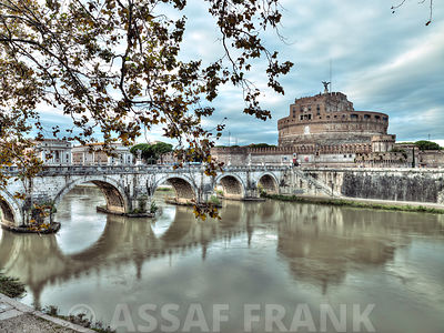Castle St Angelo in Rome, Italy