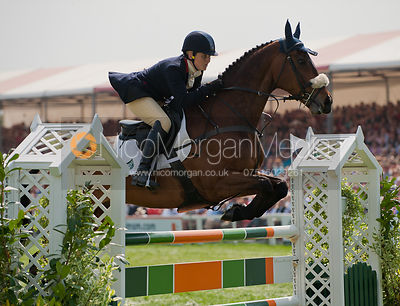 Polly Stockton and Westwood Poser - Show Jumping