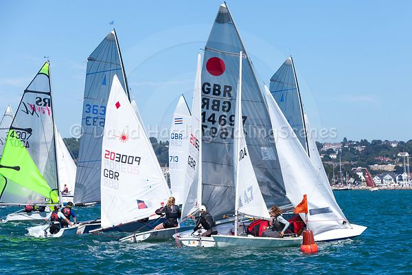 SAILING SCENES ON ADIDAS POOLE WEEK: DAY 3
