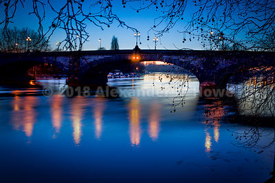Kew Bridge at Dusk